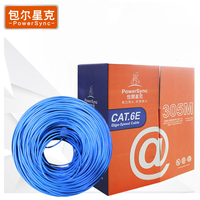 Powersync 305M 1000Mbps CAT6a RJ45 High Quality Ethernet Internet Network Cable Blue High Speed For Network