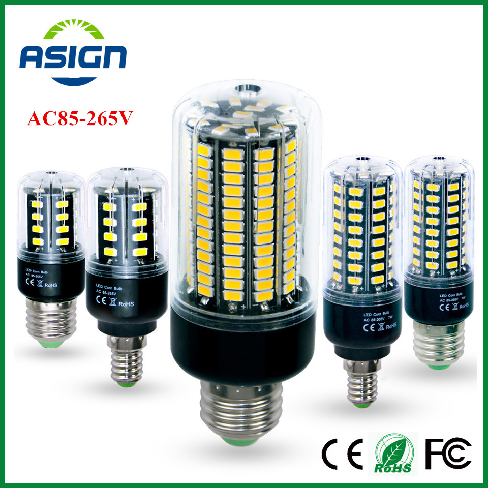 led bulb 5736 smd more bright 5730 led corn lamp bulb light real wat 3 5w 5w 7w 8w 12w 15w e27. Black Bedroom Furniture Sets. Home Design Ideas