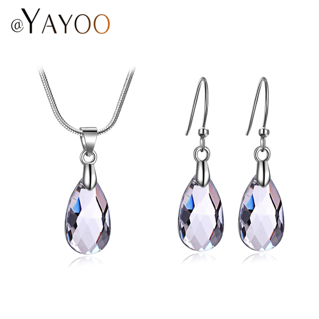 AYAYOO Jewelry Sets For Women Luxury African Beads Jewelry Set Party Indian Jewe