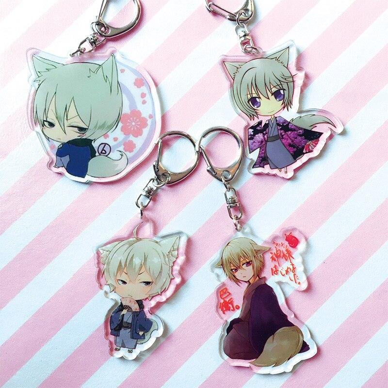 Anime Kamisama Hajimemashita Keychain Acrylic Keyring Cute Kawaii Pendant Keychains Chaveiro Souvenir Gift For Fans