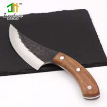 Handmade forged German slaughtering boning knife chef kitchen butcher meat cleaver outdoor camping knives
