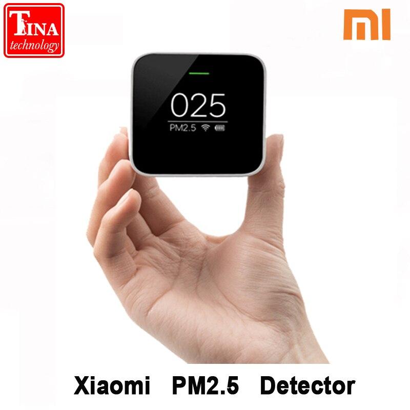 Original Xiao mi mi jia PM2.5 Detecto rOLED สมาร์ทเซ็นเซอร์ Xiao mi Air คุณภาพ Smart Control APP Adapt mi Air Purifier-ใน รีโมทคอนโทรลอัจฉริยะ จาก อุปกรณ์อิเล็กทรอนิกส์ บน AliExpress - 11.11_สิบเอ็ด สิบเอ็ดวันคนโสด 1