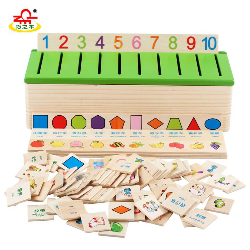 qzm montessori juguetes para nias clasifican juego digital de forma de la fruta del patrn animal