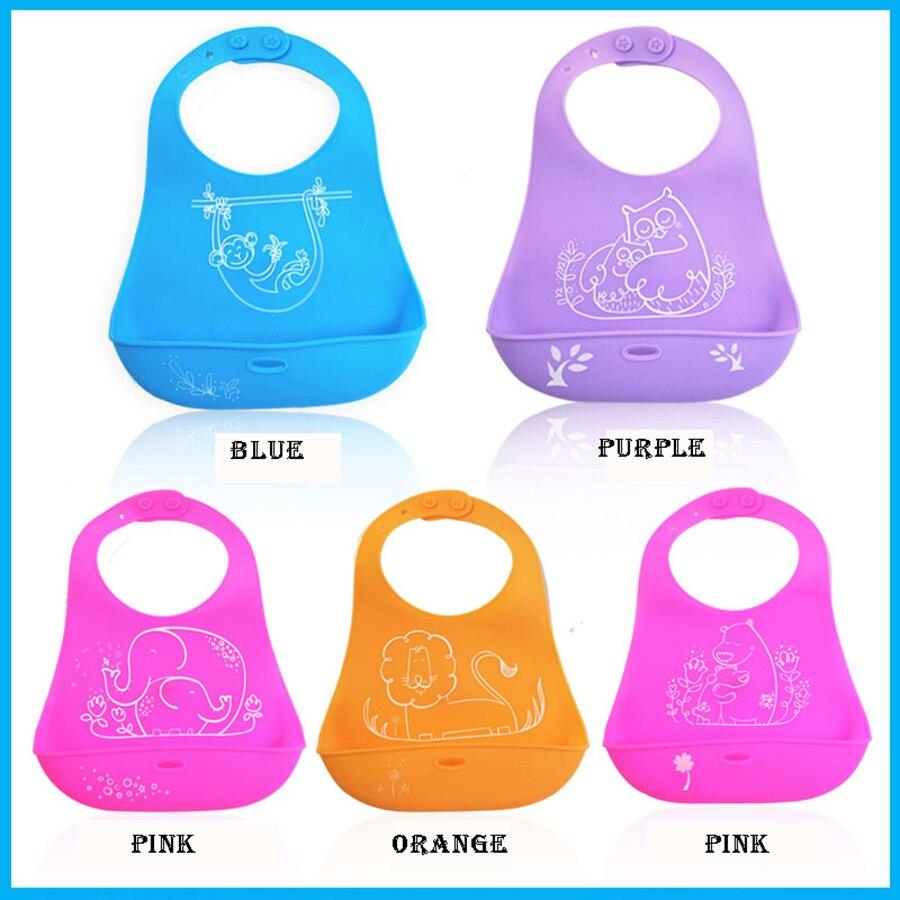Su geçirmez Bebek Önlüğü Silikon Baberos Breastplate Best Friends Büyük Hayvan Yaz Yenidoğan Besleme Önlük Bebek Aksesuarları 504052
