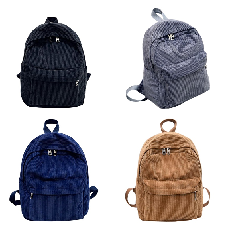 Women Backpack Mochila Laptop-Bags Rucksack School-Bag Teenage Small Vintage Students
