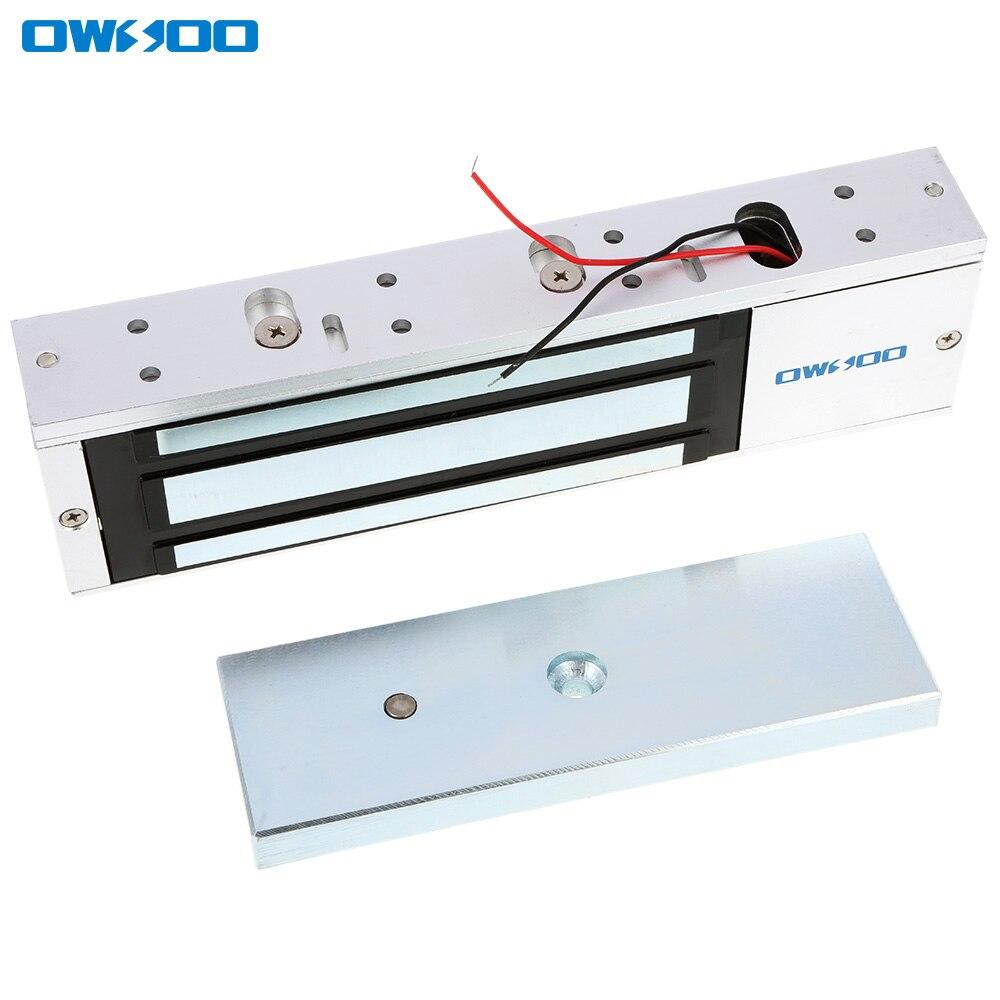 bilder für OWSOO Zugangskontrolle Einzelne Tür 12 V Elektro Magnetic Elektromagnetische Verriegelung 500 KG/£ Haltekraft Türschloss Hause sicherheit