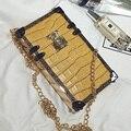 phone bag case box crocodile bag fashion designer rivet crossbody bag small women clutch handbag chain shoulder messenger sac