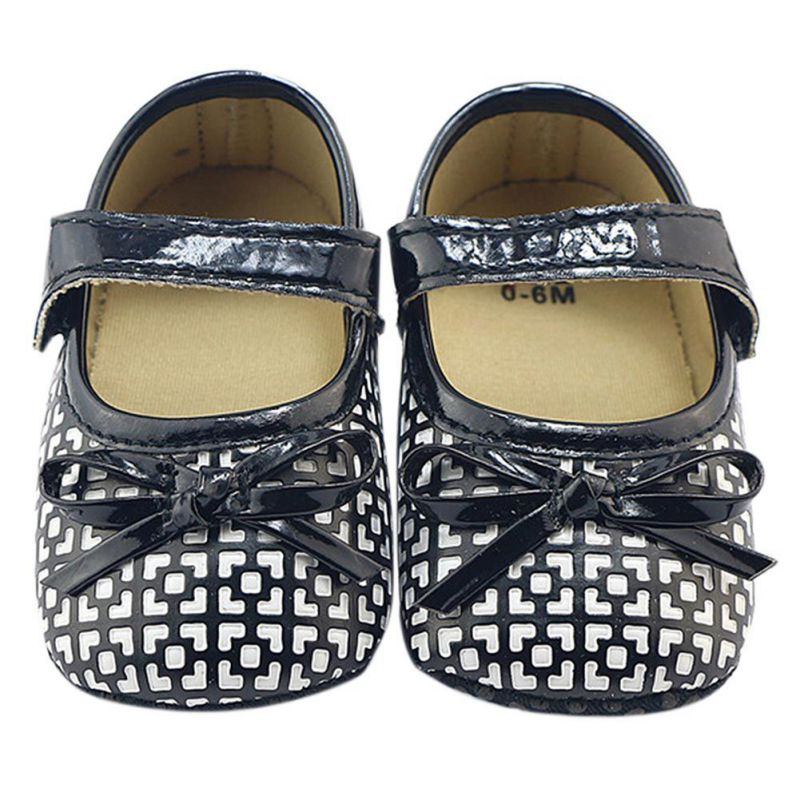 Infantil Newborn Baby Girl Buckle Strap First Walkers Spring and Autumn Butterfly knot Shoes Spring and