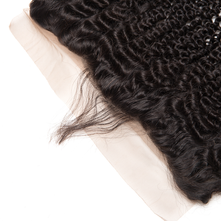 Հրաշք աղջիկ բրազիլական կինկի գանգուր - Մարդու մազերը (սև) - Լուսանկար 5