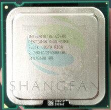 E5400 SLGTK Desktop computer processor intel used cpu dual core 2 Duo Cpu 2.7GHz 2MB/800MHz LGA 775