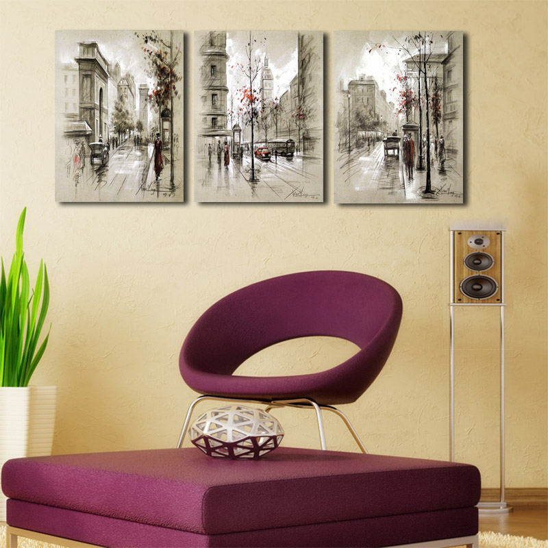 Modern-Style-Abstract-Oil-Painting-Canvas-Retro-City-Street-Landscape-Oil-Pictures-Decorative-Painting-Wall-Art (3)