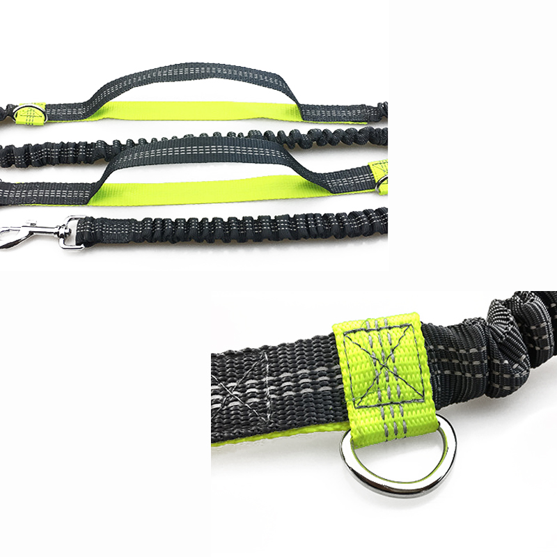 [TAILUP] Djurhund Running Leash Rope with2 handtag DogJoging Walking - Produkter för djur - Foto 5