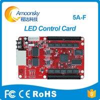 Tarjeta de control colorlight profesional  tarjeta de recepción de led 5a-f