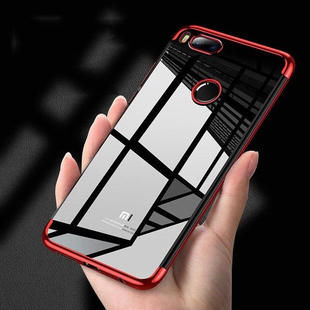 Caso para Xiaomi mi 8 9 SE mi A1 A2 Lite funda de silicona Xiaomi rojo mi nota 7 5 6 pro Plus 5A primer 6A 4 4x S2 Pocophone F1 cubre