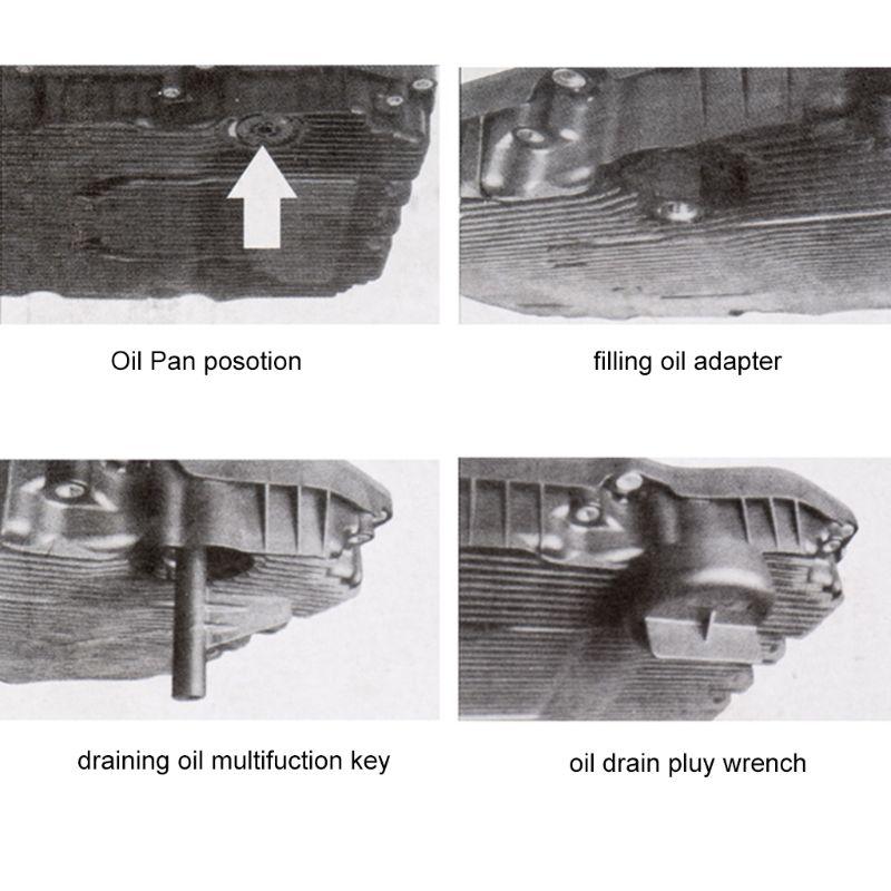 שידור שמן מילוי כלי עבור מרצדס בנץ 725.0 9-מהירות שמן שינוי כלים מתאם סט