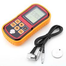 ANENG GM100 Цифровой ультразвуковой толщиномер 1,2-220 мм стальной ширина испытательный монитор