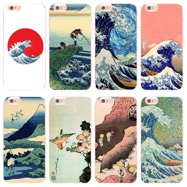 coque iphone 8 hokusai
