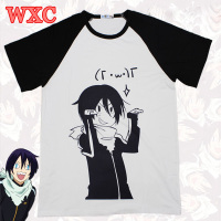 Noragami T Shirt Japanese Anime Aragoto Yato Shirts Unisex Casual Short Sleeve Breathable Tops Tee Harajuku Clothing WXC