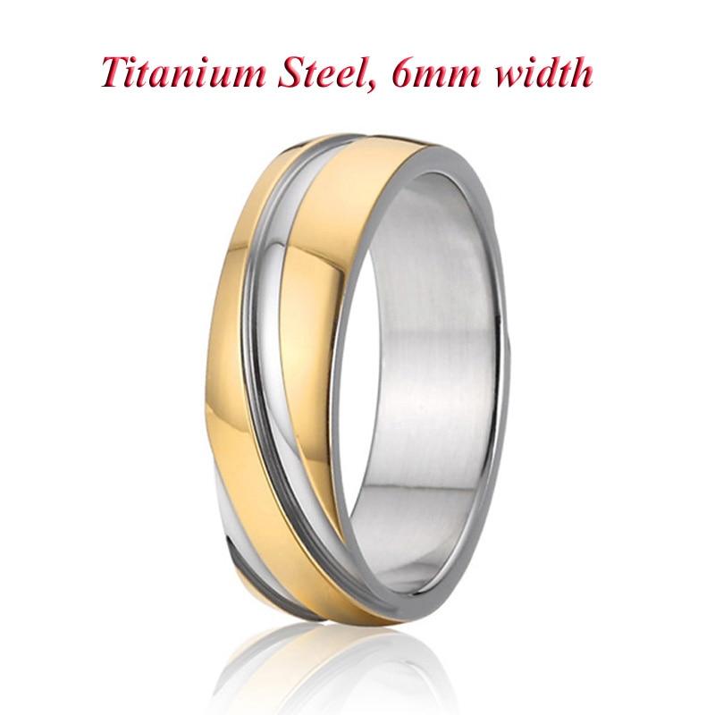 2019 Unique Man Allainces Fashion Titanium Steel Men Jewelry Finger