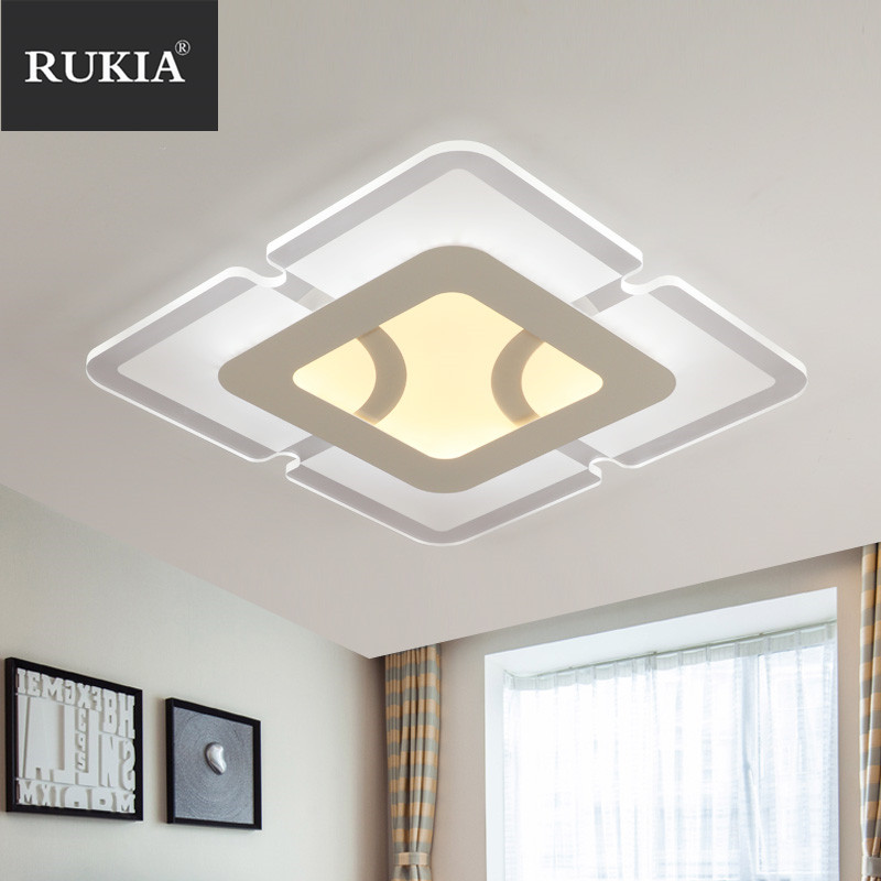 Modern Led Ceiling Lights For Indoor Lighting plafon led Square Ceiling Lamp Fixture For Living Room Bedroom luminaria teto modern led ceiling lights for indoor lighting plafon led square ceiling lamp fixture for living room bedroom lamparas de techo