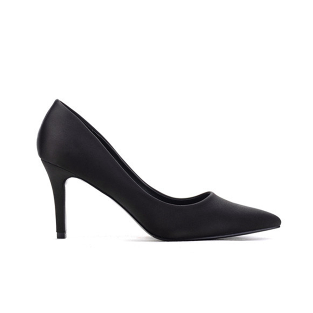 Aidocrystal Women High Heel Shoes Classical Pumps Lady Sexy Pointed Toe Office Lady Shoes Sexy Black Pumps Sheepskin Shoes aidocrystal wholesale newest 2016 high heel black crystal shoes for girl