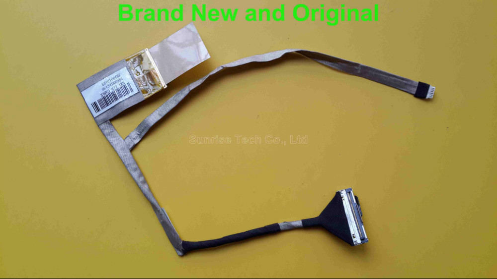Brand New and original LVDS LCD Cable for HP Mini 210 laptop LED screen video LVDS NMI LCD Cable DD0NM1LC130 wire new original laptop replacement lcd cable for hp pavilion dv6 6000 dv6 6100 dv6 6200 dv6z 6100 b2995050g00013 lcd lvds cable
