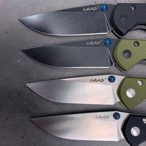 Image 4 - ĐẤT năm 910 Bỏ túi Gấp 12C27 lưỡi dao thép không gỉ bóng bay Cắm Trại Di động sống còn Câu Cá Công cụ EDC