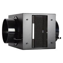 Система вентиляции и кондиционирования воздуха, очиститель воздуха, резервуар для очистки воздуха с фильтром HEPA, активированный уголь PM2.5, удалитель воздуховода 100 мм