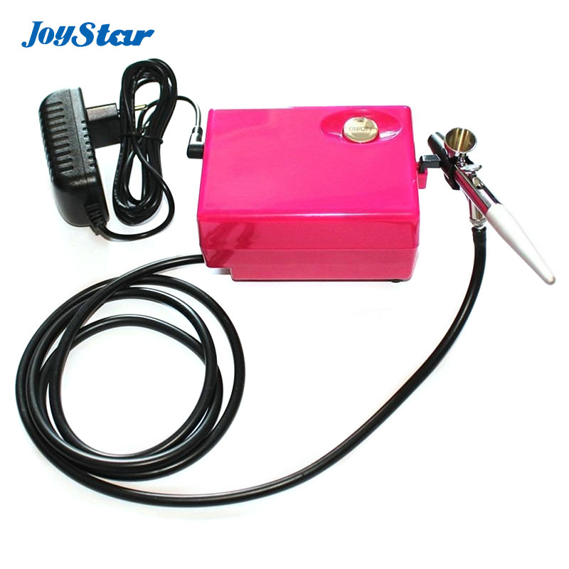 Mini Airbrush kit makeup system Airbrush compressor kit with 0 4mm single action airbrush working pressure