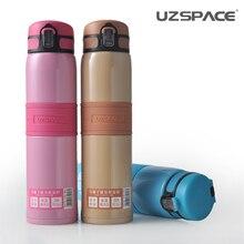 2017 uzspace ausgezeichnete anion energie vakuum und frauen edelstahl tragbare in einer büro schützen für thermos mode tasse