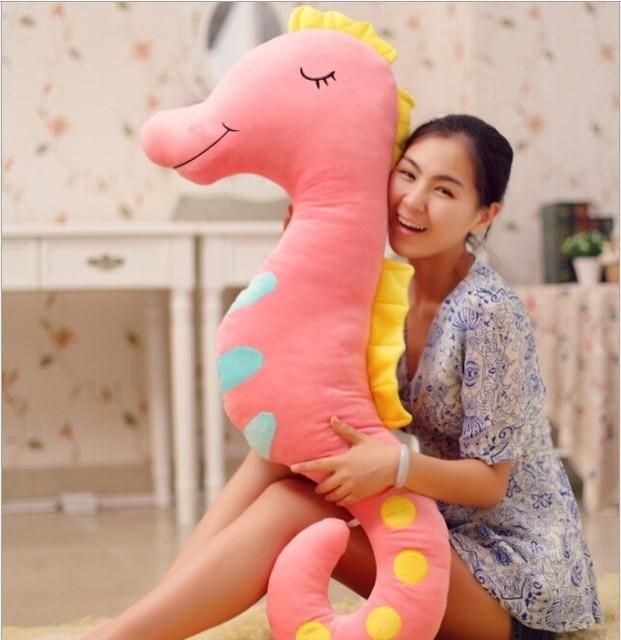 2014 New Color Hippocampus Large Pillow Cushions Pregnant Women Sleeping Boyfriend Girlfriend Gift Plush Toys Birthday
