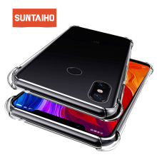 Suntaiho for Xiaomi MI 8 case shockproof phone case redmi 5 TPU Cover Silicone for xiaomi mi8 se mi8se for Redmi 4x phone case