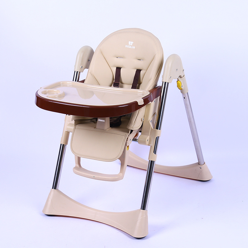 Baby Dining Highchair Baby Eating Chair Multi Function Folding Baby Booster Seat Children Dining Chair Portable Highchair >6 M infant dining chair small folding size convenient to carry weight 10kg saving space children dining eating chair free shipping