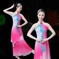 Tempo-limitado Roupas Hmong Disfraces Elegante Fã Yangko Roupas Folk Chinesa Clássica Performance de Palco Trajes de Dança do Sexo Feminino