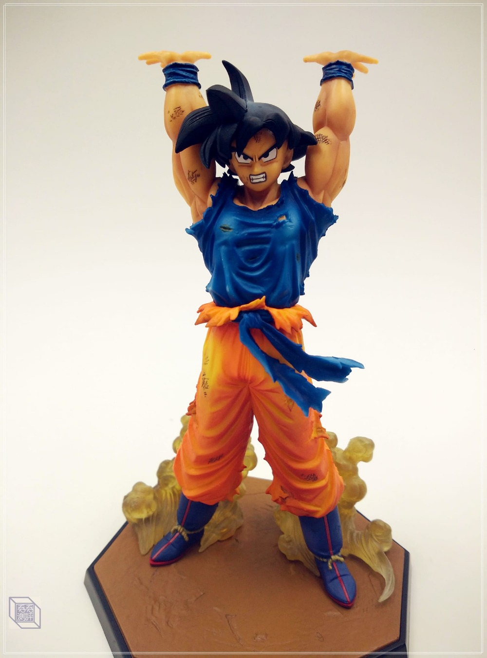 MODEL FANS Dragon Ball Z Absolutely genuine BANDAI Figuartszero Son GOKU Genki damaSpirit Bomb PVC figure toy Decoration anime dragon ball super saiyan 3 son gokou pvc action figure collectible model toy 18cm kt2841