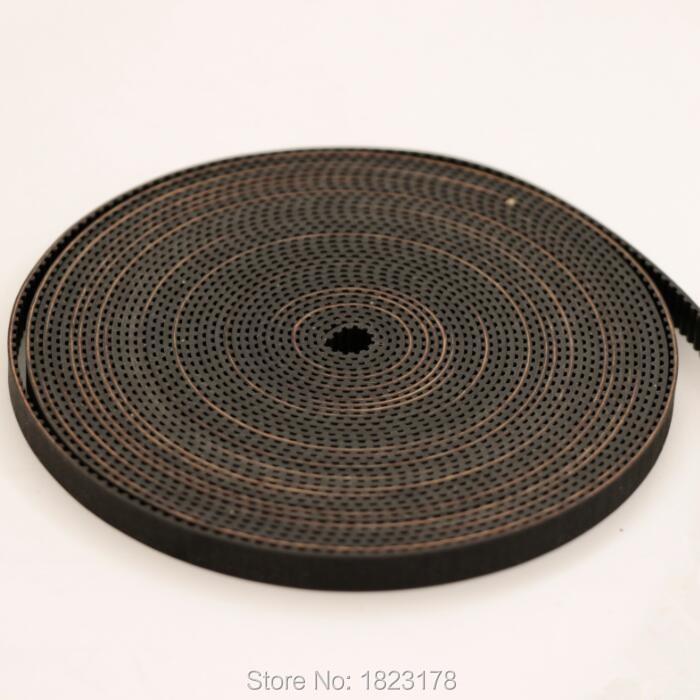 High Quality 50meters LOT MXL timing belt Pitch 2 032 open rubber belt width 6 35mm