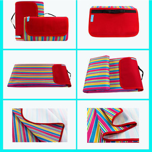 Image 1 - Kyncilor Picnic Cushion 600D Oxford Cloth Outdoor Picnic Waterproof and Moistureproof Spring Beach Cushion