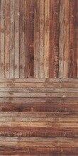 HUAYI madeira cenários de fotografia Cenário vinil piso de madeira Pano de Fundo adereços Recém-nascidos Fotografia Fundos madeiras d-7247