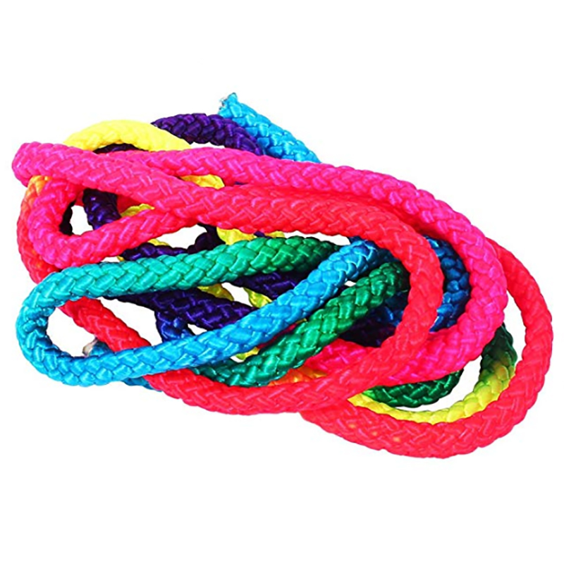 Rainbow Color Rhythmic Gymnastics Rope 1 Pc 3M Solid Arts Competition Rope  Nylon Jumping Artistic Training Rope-in Gymnastics from Sports    Entertainment on ... 65073d1cb8fd