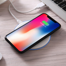 Without Wire Wired Cordless Chargeur Rapide Charge QI Wireless Charging Pad For iPhone Samsung huawei P20 Lite p20 pro