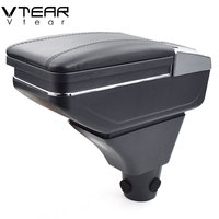 Vtear For Honda civic ep3 armrest box central Store content box cup holder ashtray interior car styling decoration Accessories