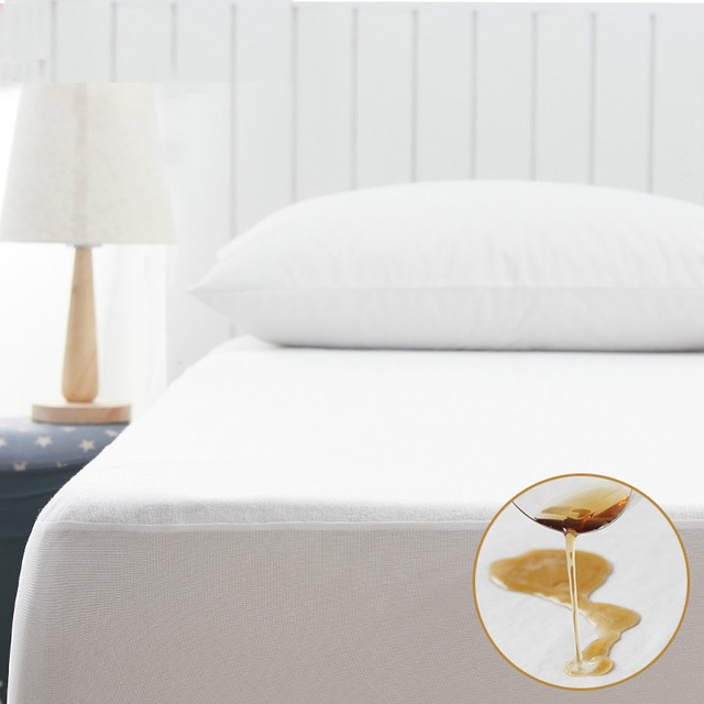 Premium Matelas All Size Terry Waterproof Mattress Protector Cover For Bed Wetting And Bug Suit