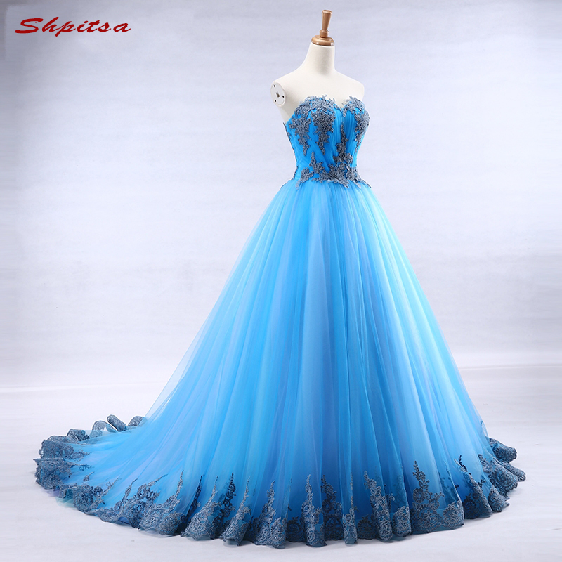 Ball Gown Prom Dresses Long Womens Formal Party Gowns