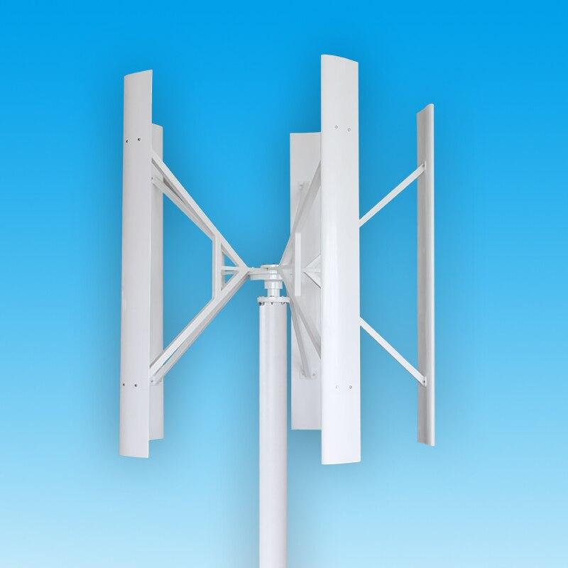 DC12V/24 V 100 W/200 W/300 W en forme de H axe Vertical éolienne générateur Maglev énergie propre installation de production d'énergie extérieure