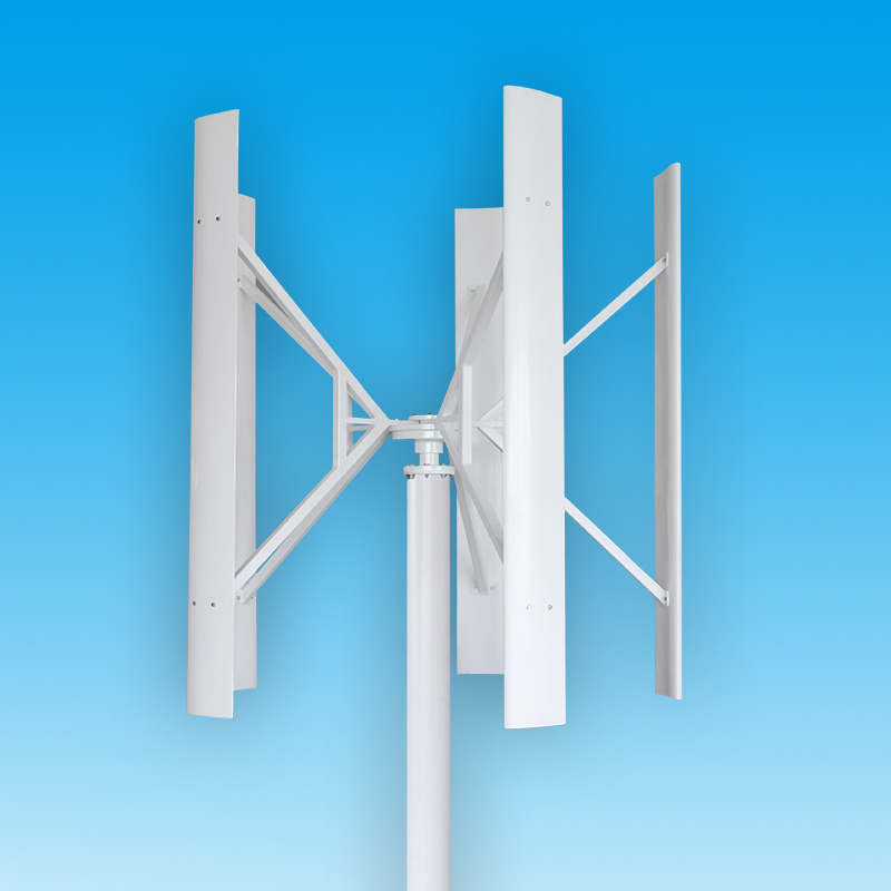dc12v 24v 100w 200w 300w h shaped vertical axis wind turbine maglev generator clean energy outdoor power generation facility DC12V/24V 100W/200W/300W H-shaped Vertical Axis Wind Turbine Maglev Generator Clean Energy Outdoor Power Generation Facility