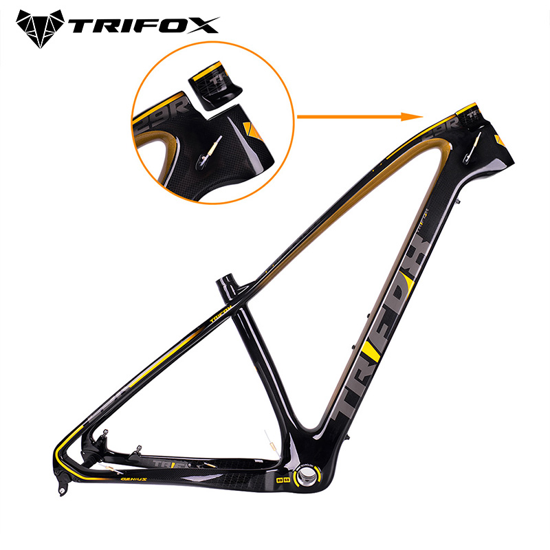 TRIFOX Carbon Mountain Bike Frame Mtb 27.5/29er 31.6mm MTB Carbon Bicycle Frame Mountain Bike Frame Used For Racing Bike Cycling(China)