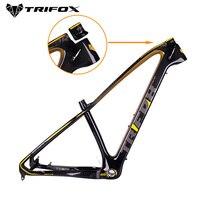 TRIFOX углерода крепежная рама для горного велосипеда 29er T800 31,6 мм горный велосипед карбоновый велосипед рама крепежная рама для горного велос