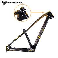 TRIFOX Carbon Mountain Bike Frame mtb 27.5/29er 31.6mm MTB carbon bicycle frame Mountain Bike Frame used for racing bike cycling