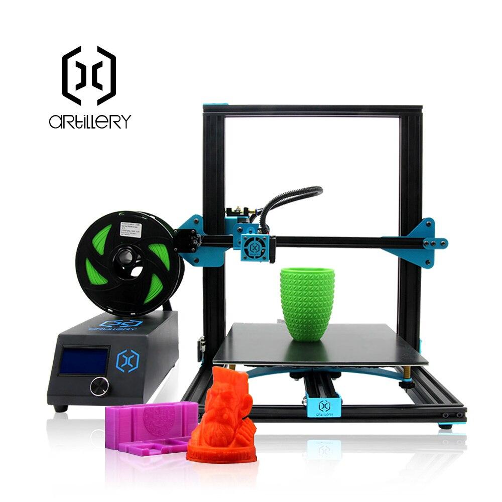 3D Printer 3D Artillery AL-4 New Arrivals 3D Metal Printer FDM Full Metal Easy Assembly 3D Printer Kit 300*300*300mm