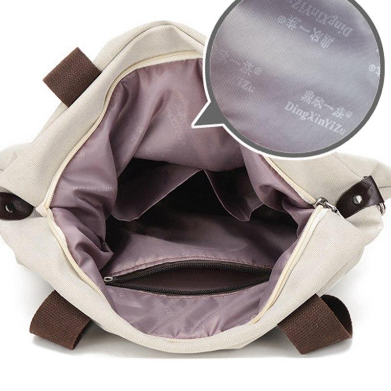 New  Women Bag Vintage Canvas Handbags Messenger bags for Women Handbag Shoulder Bags High Quality Casual bolsa  L4-2669